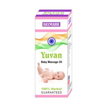 YUVAN BABY MASSAGE OIL - 100ML